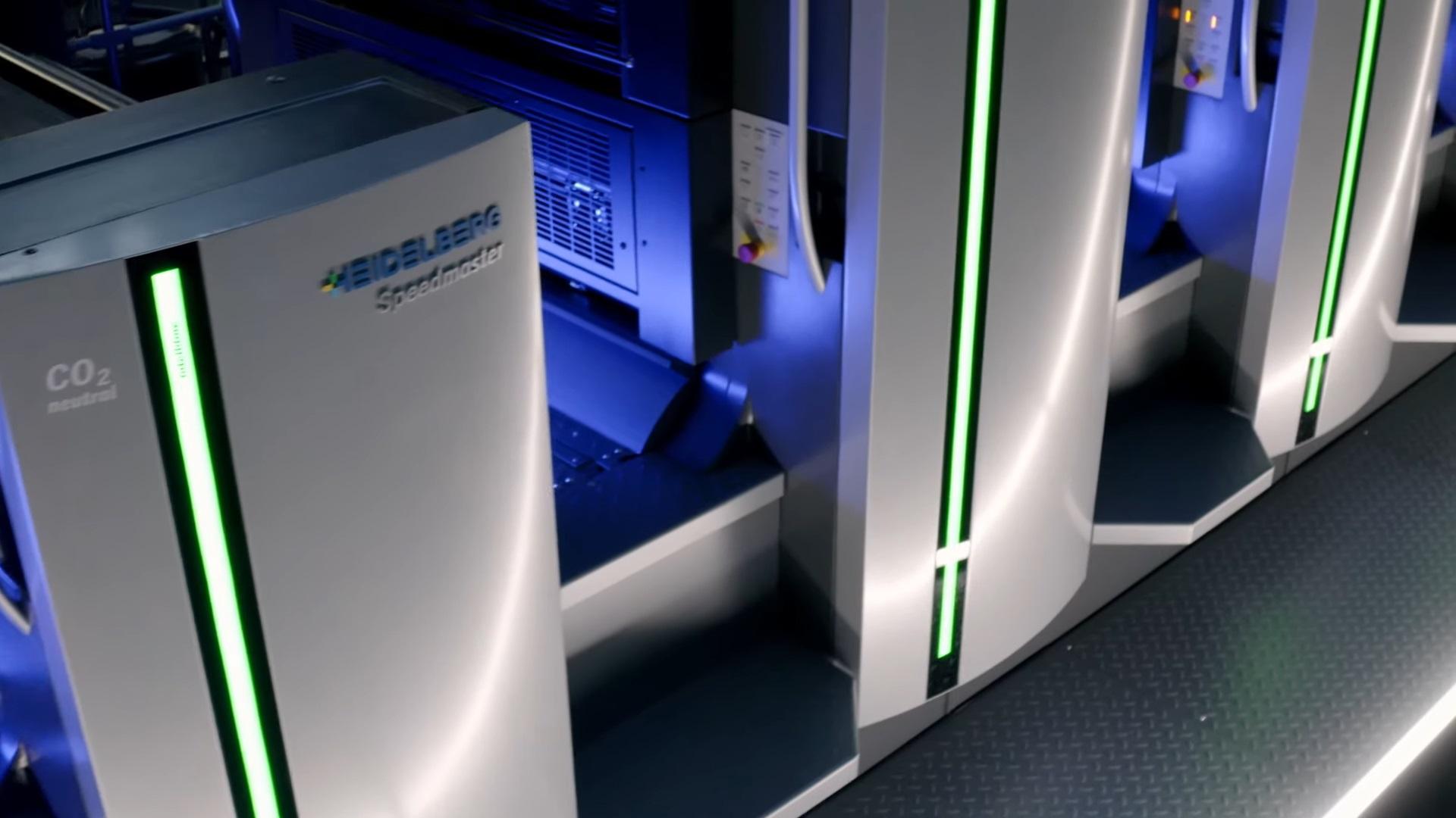 自動化されたパッケージ印刷