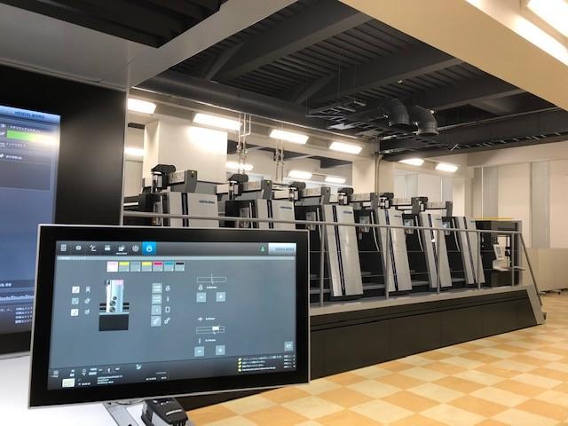 ハイデルベルグの特許技術:<BR>AIによる印刷機の完全自動運転