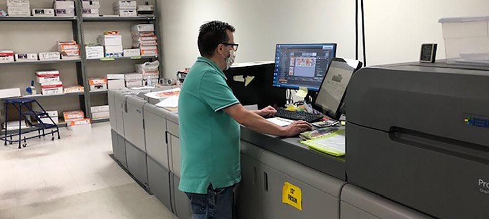 印刷通販の効率を飛躍的に向上<BR>ハイデルベルグのバーサファイアEP
